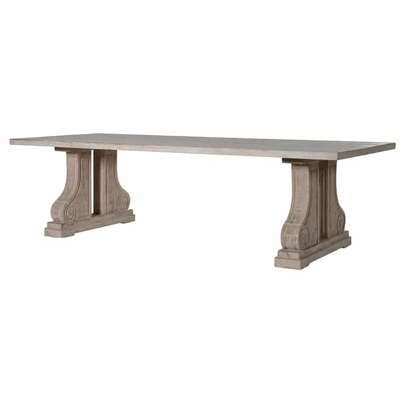 Puymartin extra large dining table la maison chic for Extra small dining table