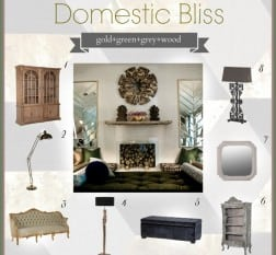 Domestic Bliss interiors