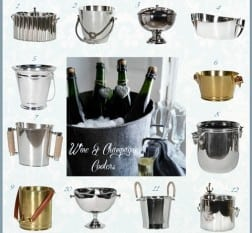 Wine Coolers and Ice Buckets