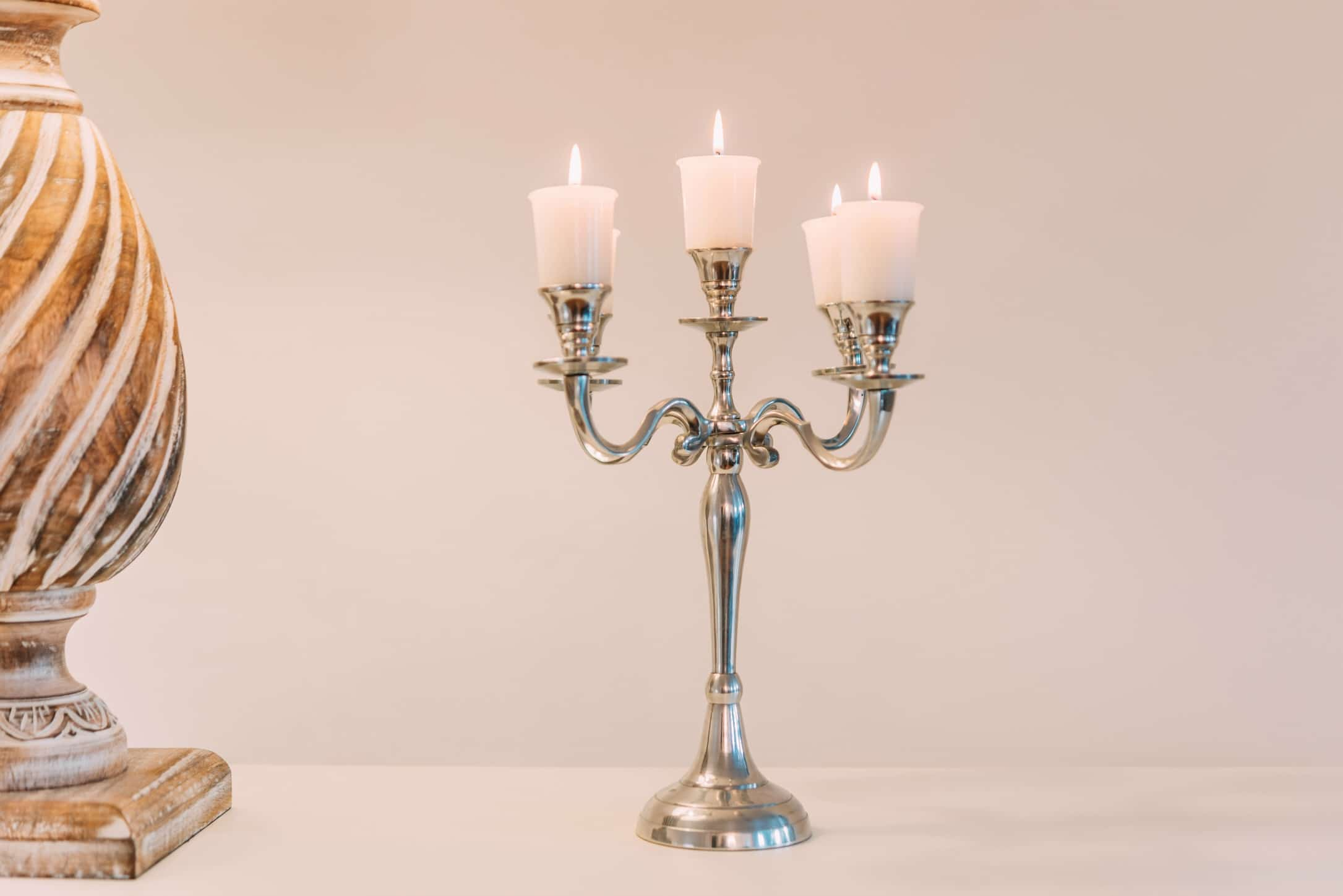 Polished Candelabra UK