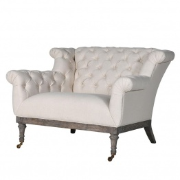 Button Loveseat UK