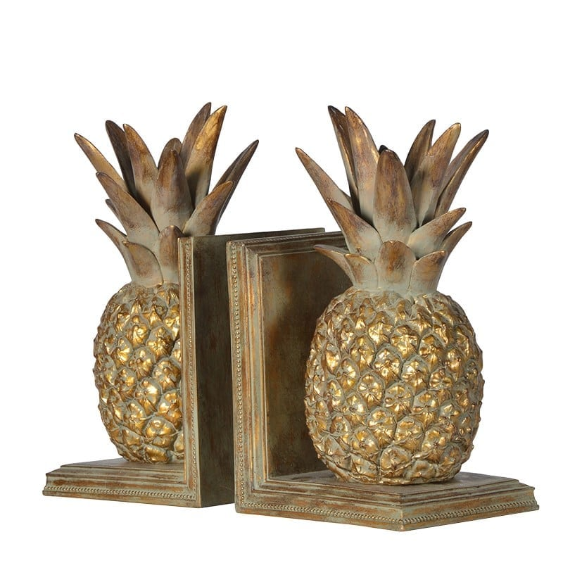 Pineapple Bookends UK