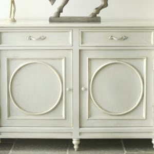 Rustic Distressed Sideboard UK