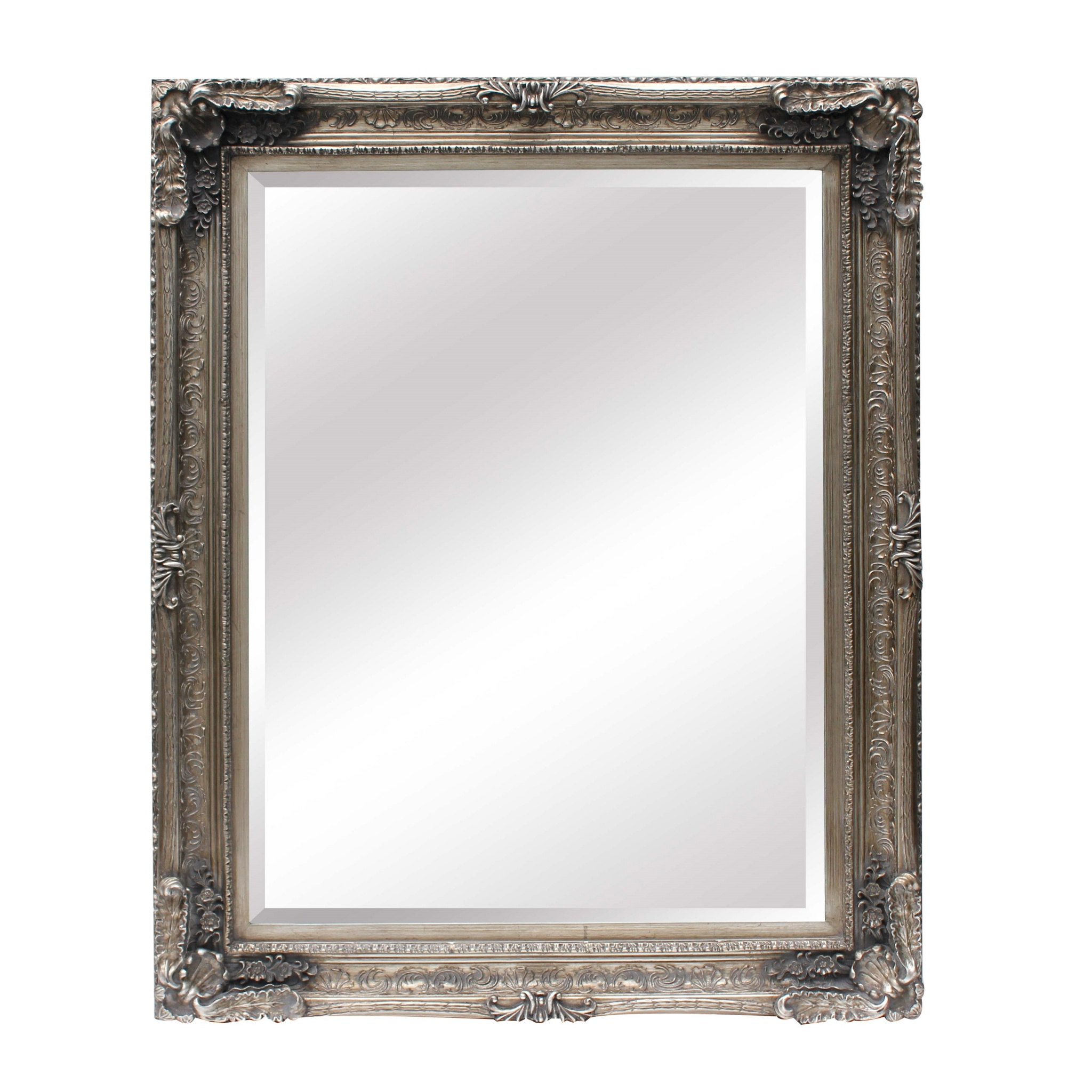 Maddelena Large Silver Mirror Furniture La Maison Chic