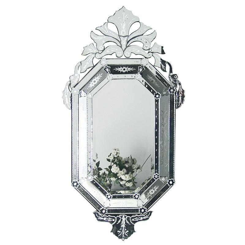 Octangular Venetian Mirror Furniture La Maison Chic