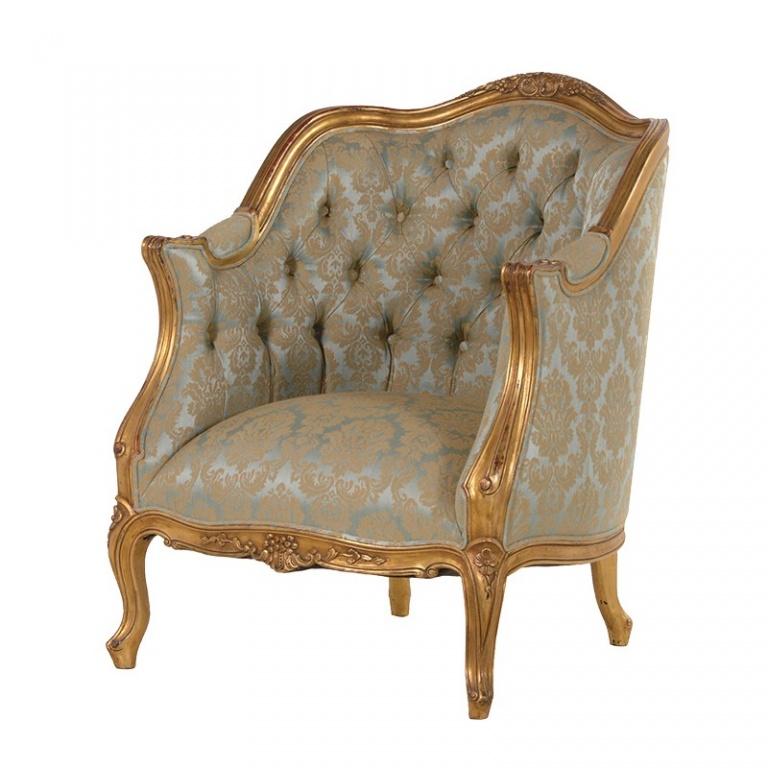 Gold Armchair UK