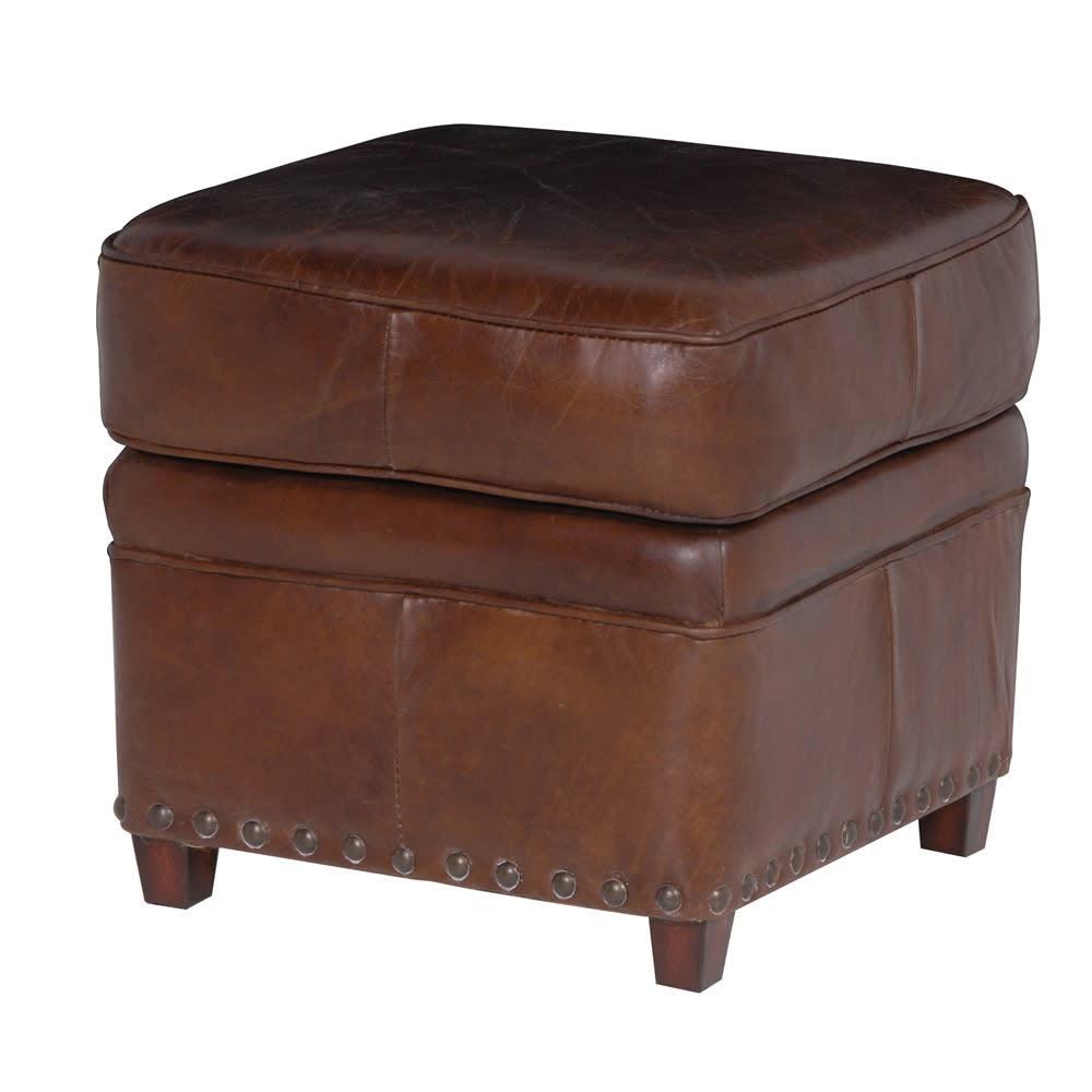 Leather Footstool UK