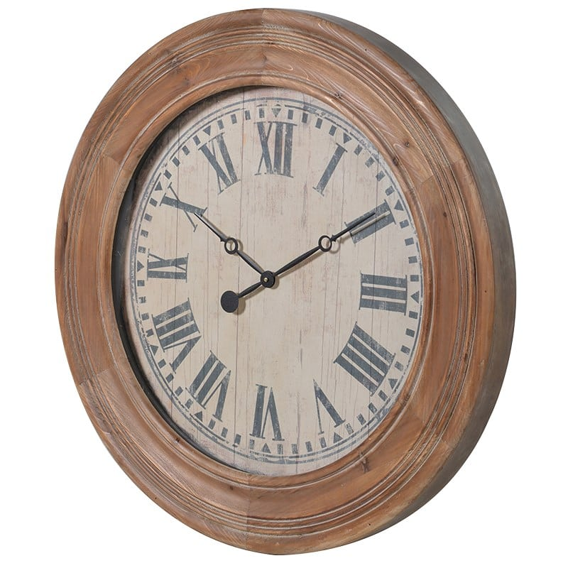 Wooden Wall Clock Furniture La Maison Chic Luxury Interiors