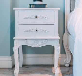 White French Bedside UK