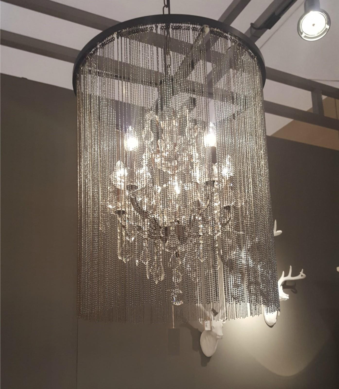 Carina Chain Chandelier Furniture La Maison Chic Luxury