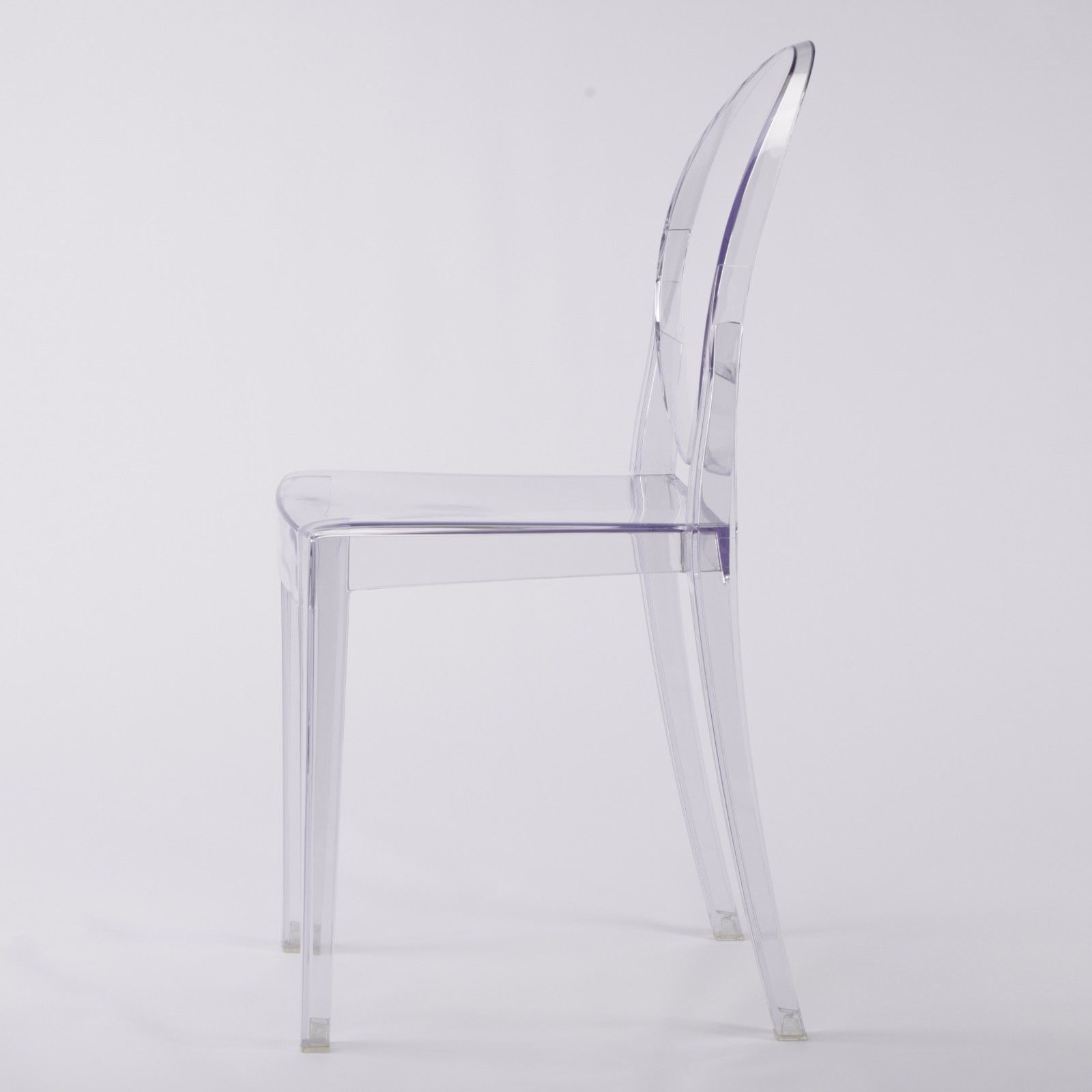Clear Ghost Transparent Dining Chair Furniture La Maison