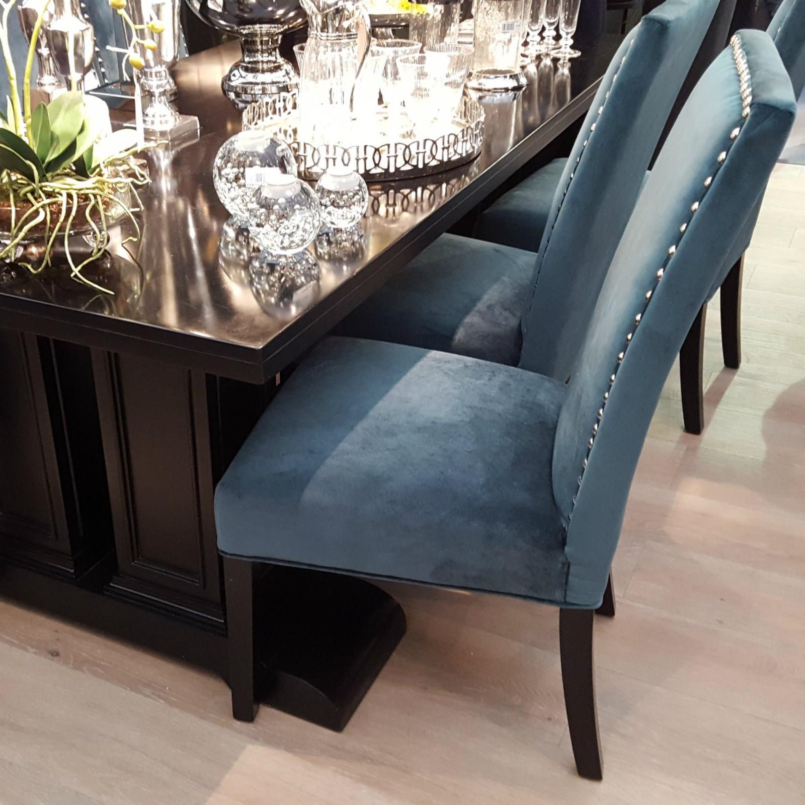 Gaillard Studded Dining Chair Furniture La Maison Chic