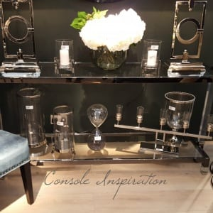Venetian Mirrored Console Furniture for Home