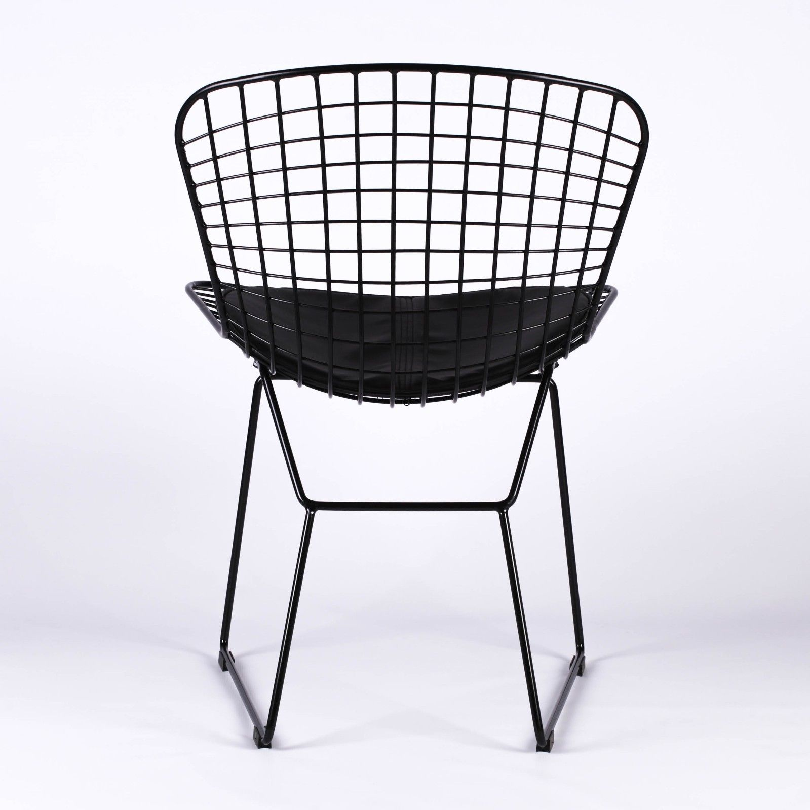 Phenomenal Black Mesh Wire Dining Chair Short Links Chair Design For Home Short Linksinfo