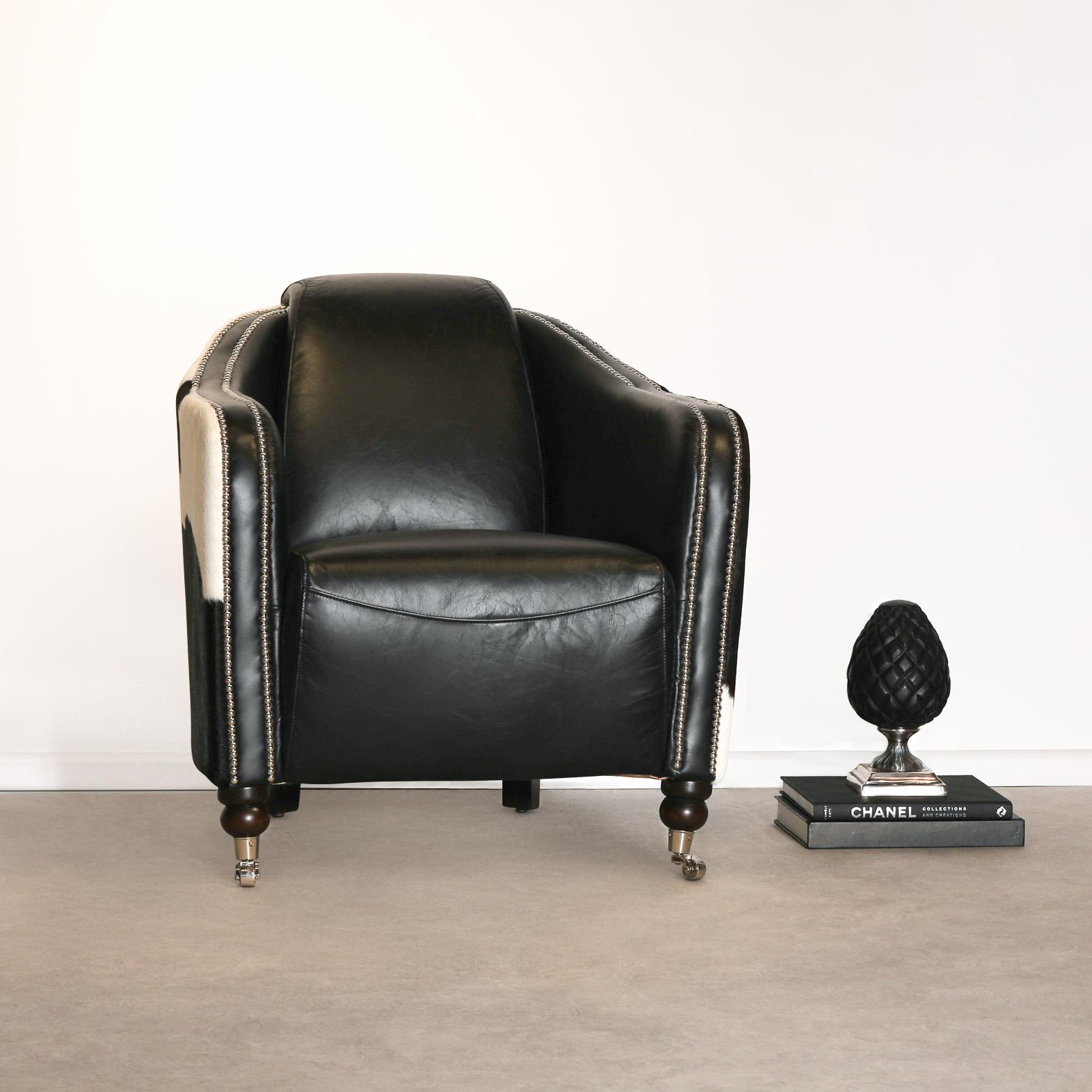 Cowhide Armchair UK
