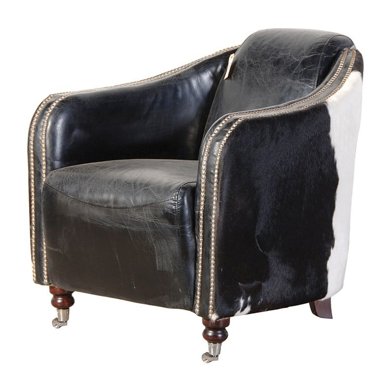 Cowhide Armchair UK