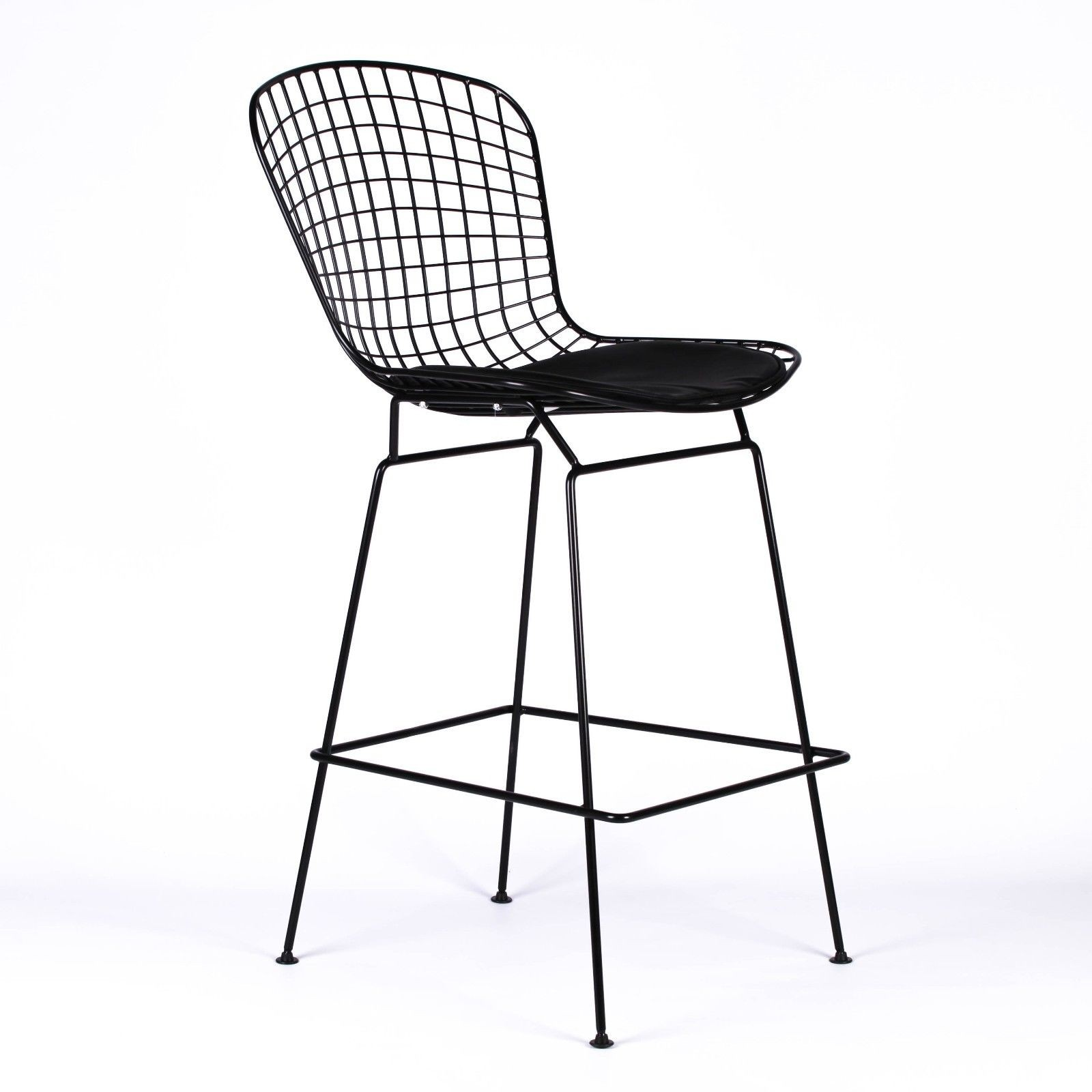 Miraculous Wire Metal Mesh Black Bar Stool Ocoug Best Dining Table And Chair Ideas Images Ocougorg
