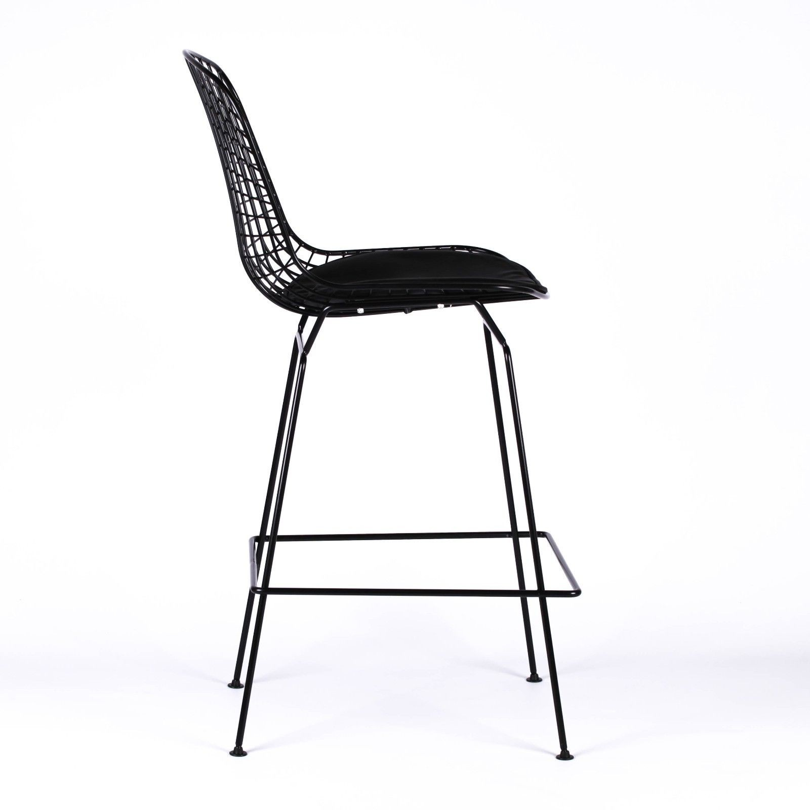 Superb Wire Metal Mesh Black Bar Stool Ocoug Best Dining Table And Chair Ideas Images Ocougorg