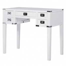 White Writing Desk UK