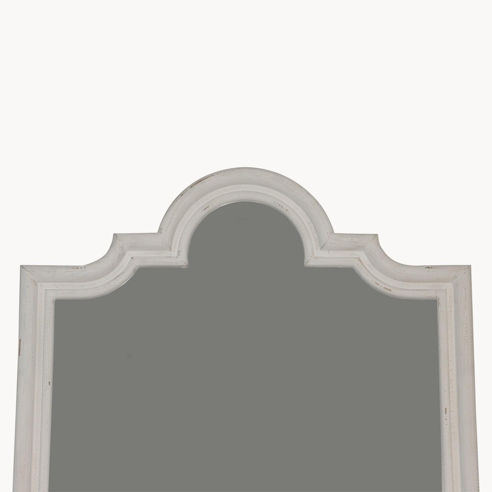 off white large mirror furniture la maison chic luxury. Black Bedroom Furniture Sets. Home Design Ideas