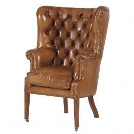 Buttoned Armchair UK