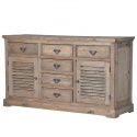 Louvred Sideboard UK