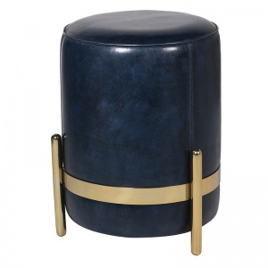 Leather Pouf UK