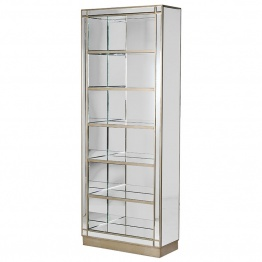 Mirrored Bookcase UK