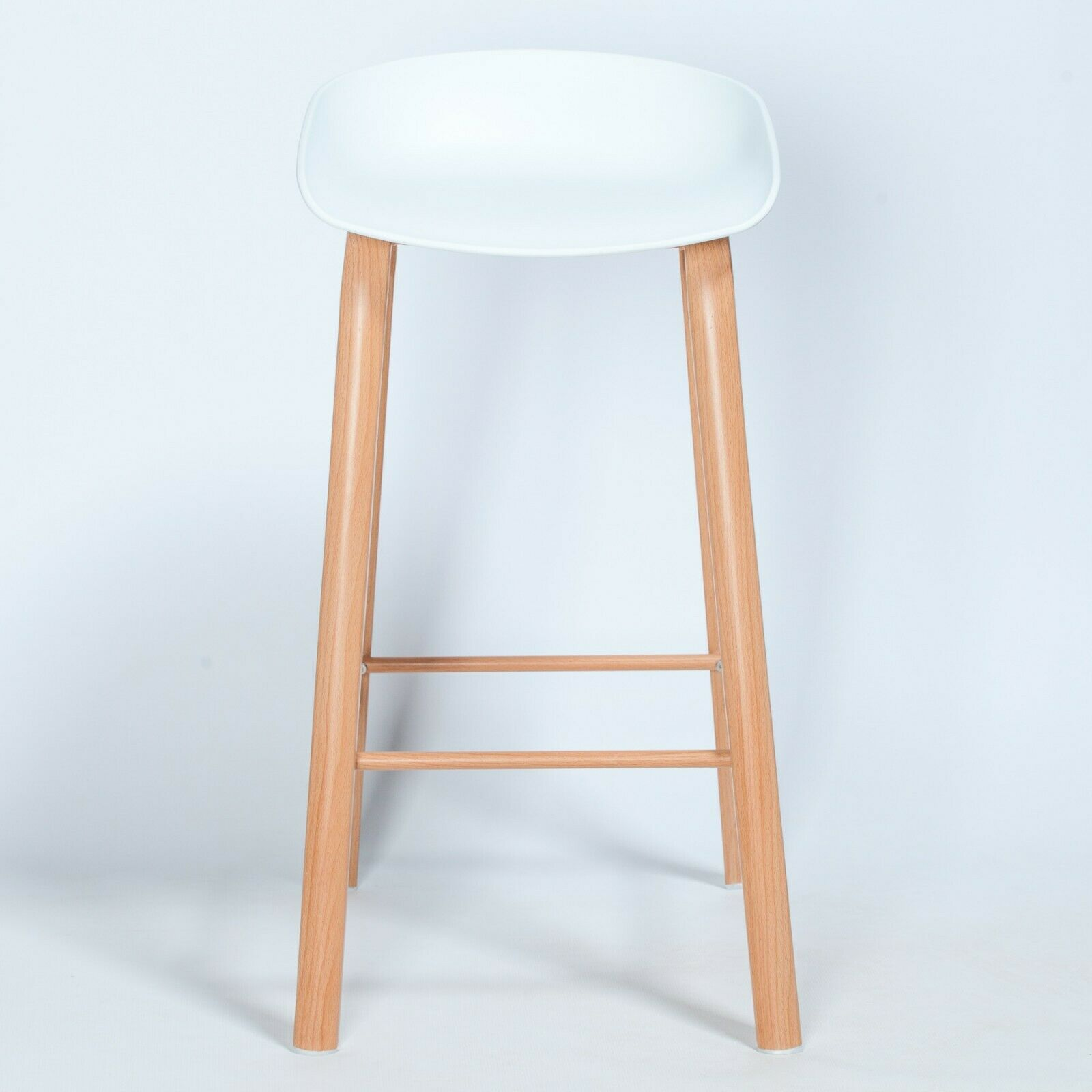 Strange Scandi Contemporary White Bar Stool Bralicious Painted Fabric Chair Ideas Braliciousco
