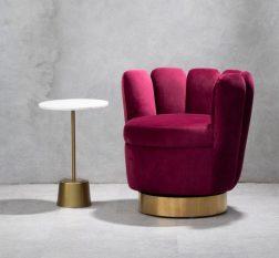 Velvet Chair UK